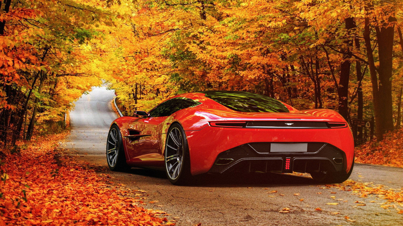 Aston Martin DBC Concept Picture   Next 2014 Aston Martin DBC ConceptAston Martin Concept Red