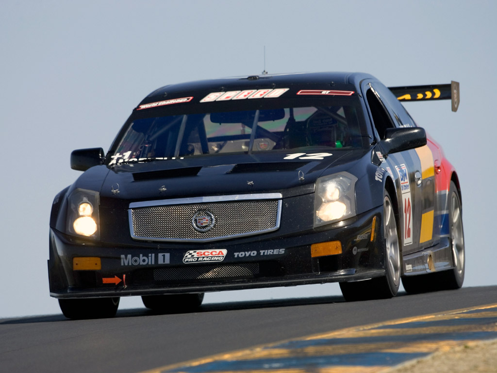 2004 cadillac cts v race car pictures specifications and. Black Bedroom Furniture Sets. Home Design Ideas