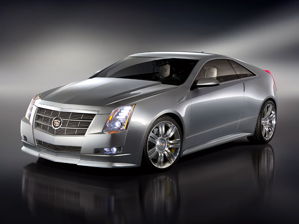 2008 cadillac cts coupe concept pictures specifications and information. Black Bedroom Furniture Sets. Home Design Ideas