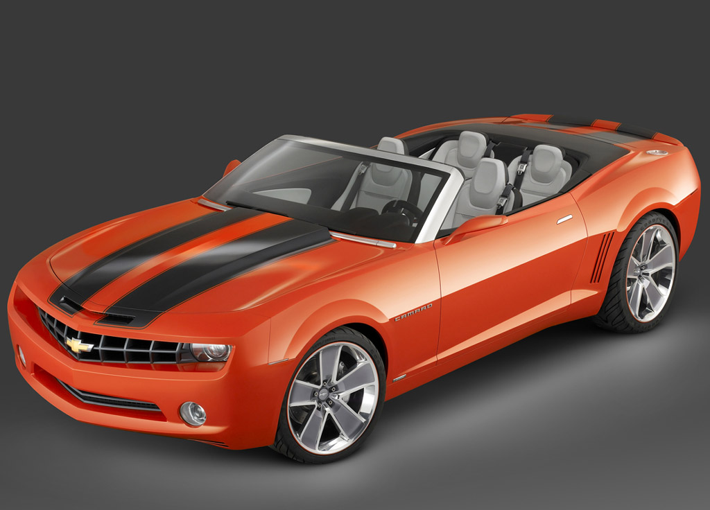 2007 chevrolet camaro convertible concept pictures. Black Bedroom Furniture Sets. Home Design Ideas