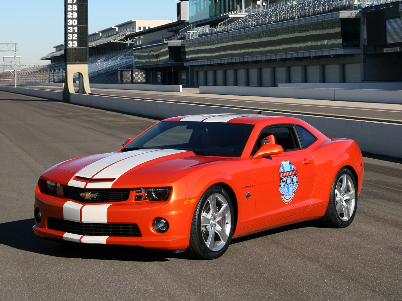 2010 chevrolet camaro indianapolis 500 pace car pictures specifications and information. Black Bedroom Furniture Sets. Home Design Ideas