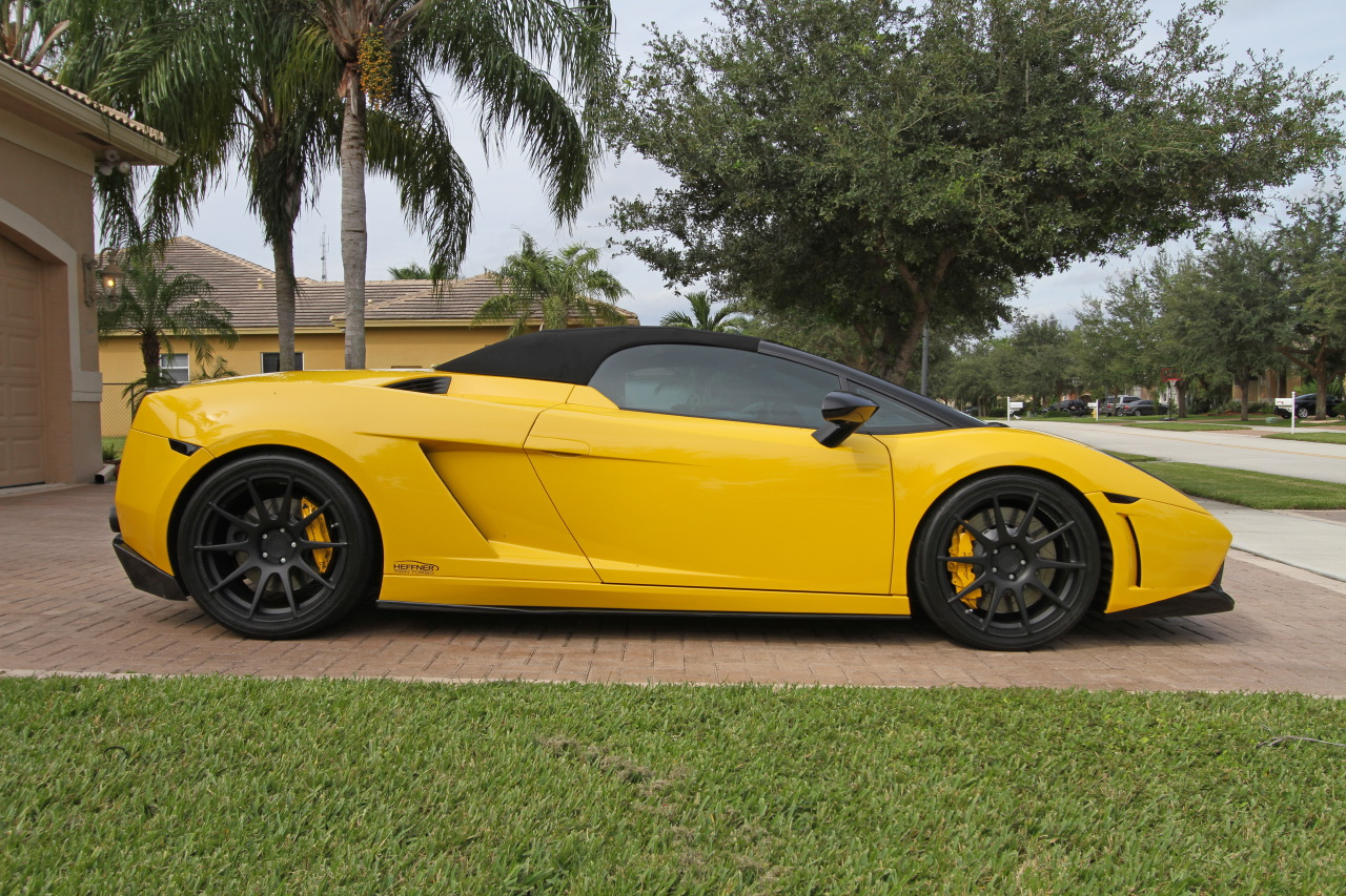 2008 Heffner Performance Lamborghini Gallardo Twin Turbo Spyder 1200