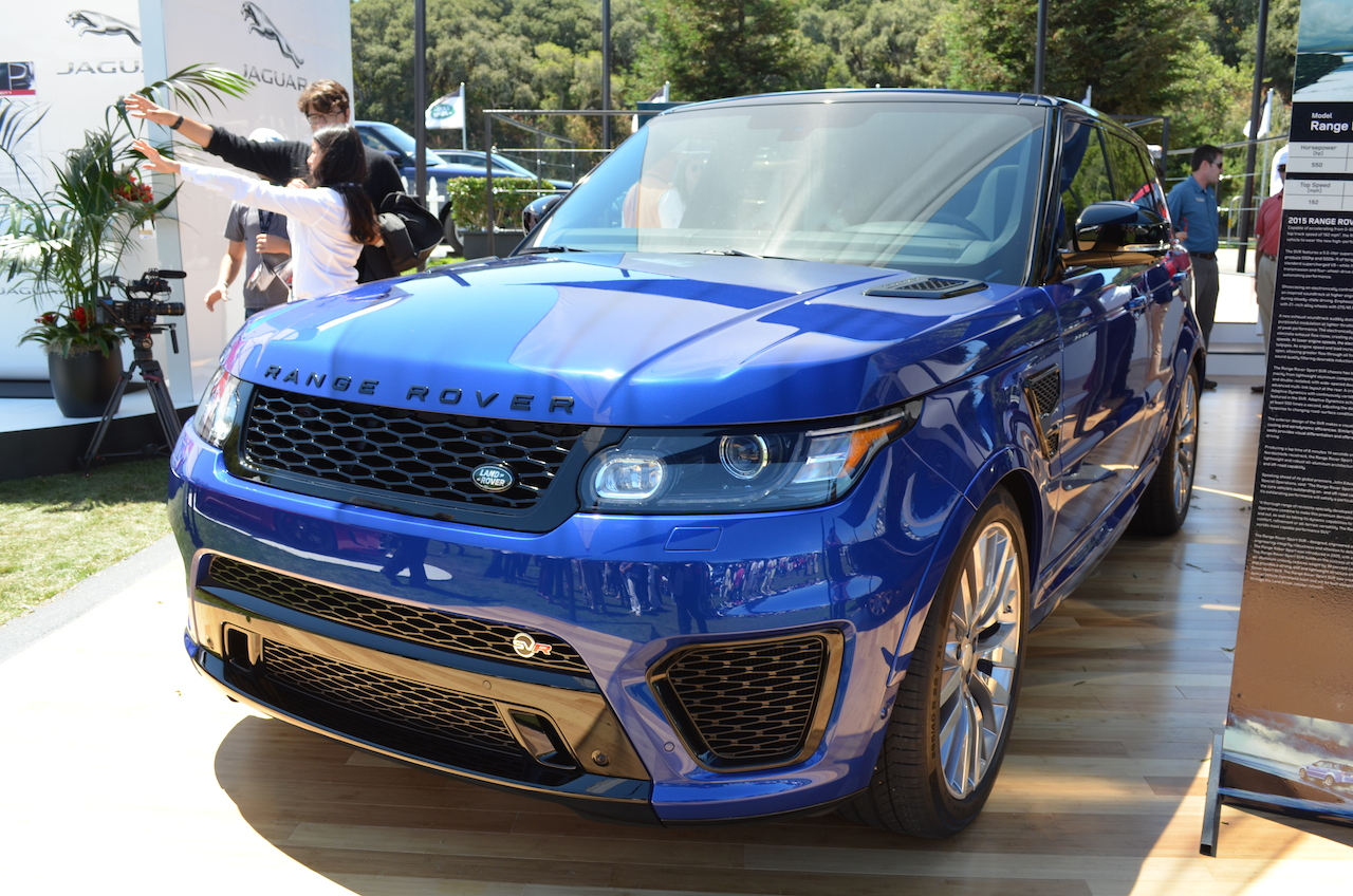 2015 land rover range rover sport svr pictures specifications and information. Black Bedroom Furniture Sets. Home Design Ideas