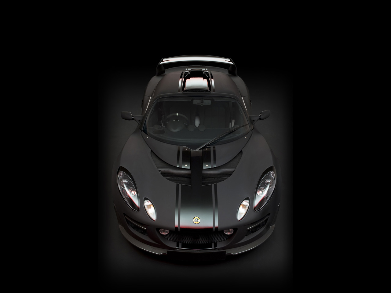 2012 Lotus Lotus Exige Matte Black Final Edition