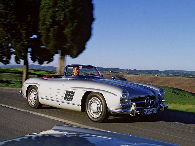 1957 Mercedes Benz 300sl Roadster Pictures Specifications
