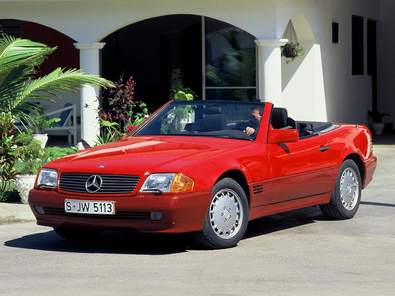 1999 Mercedes Benz Sl 500 Pictures Specifications And