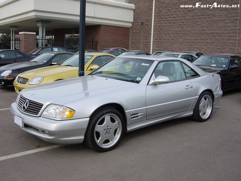 1999 Mercedes Benz Sl 600 Pictures Specifications And