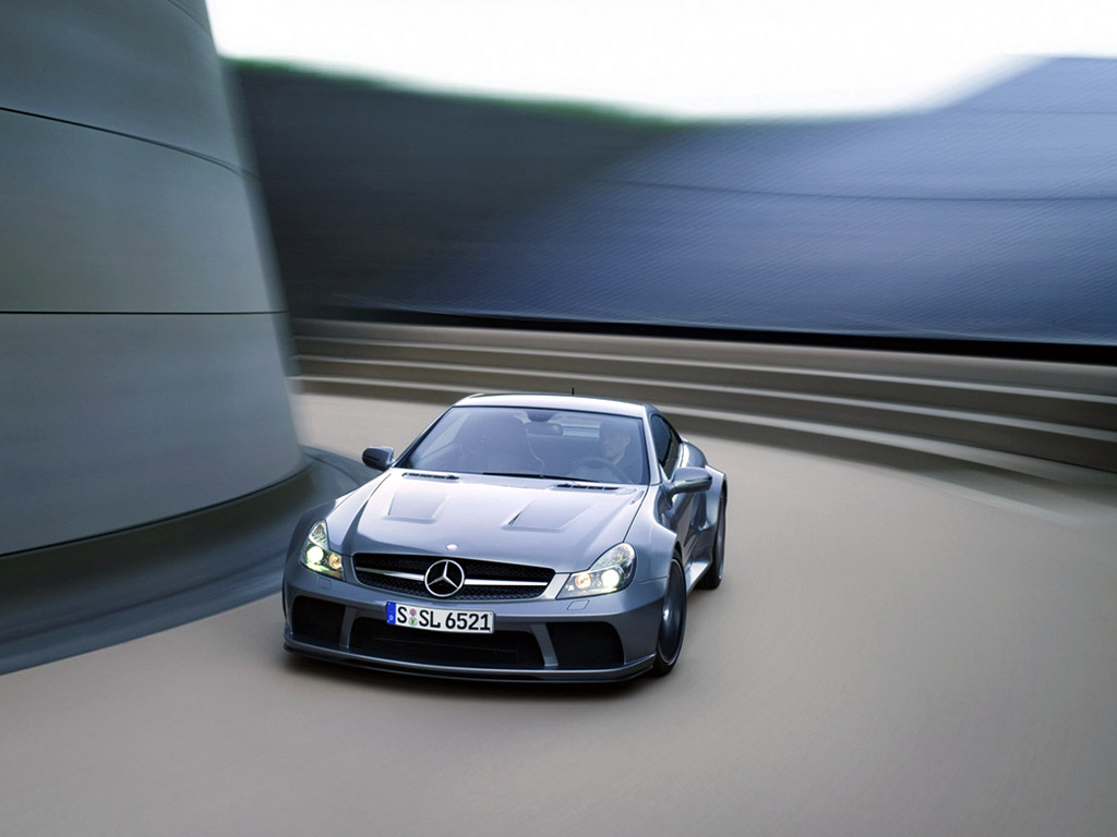 2009 Mercedes-Benz SL 65 AMG Black Series