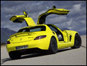 2011 Mercedes-Benz SLS AMG E-Cell