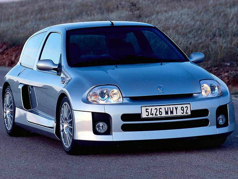 2002 renault clio sport v6 pictures specifications and information. Black Bedroom Furniture Sets. Home Design Ideas
